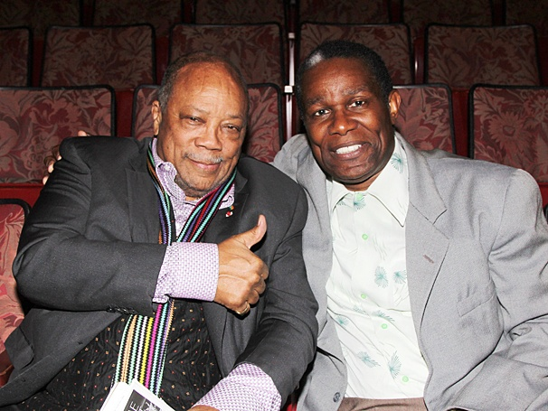 Satchmo at the Waldorf - OP - 4/14 - Quincy Jones - John Douglas Thompson