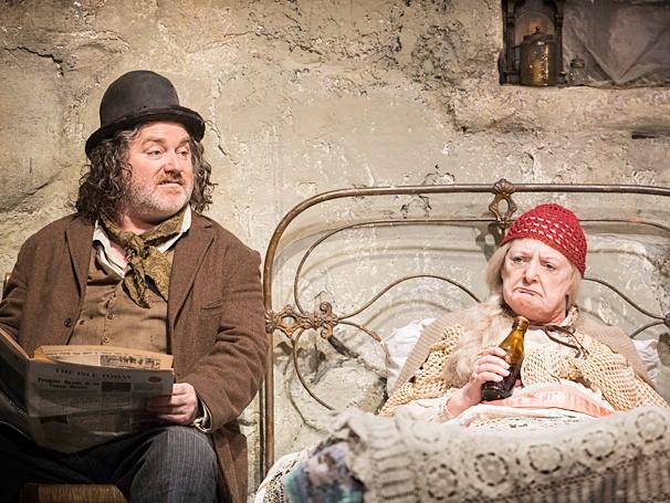 The Cripple of Inishmaan - Show Photos - PS - 4/14 - Pat Shortt - June Watson