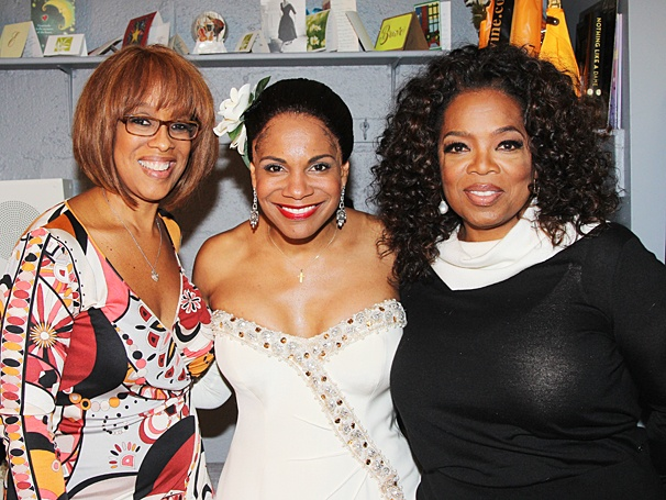 Lady Day - Backstage - OP - 5/14 - Gayle King - Oprah Winfrey  - Audra McDonald