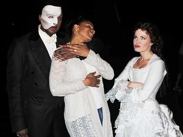 Phantom of the Opera - Backstage - OP - 6/14 - Norm Lewis - Audra McDonald  - Sierra Boggess