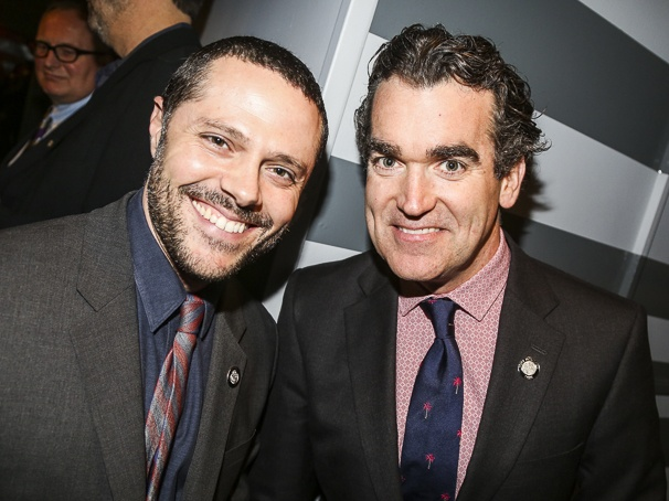 Tony Nominees - Brunch - 4/15 - Joshua Bergasse - Brian d'Arcy James
