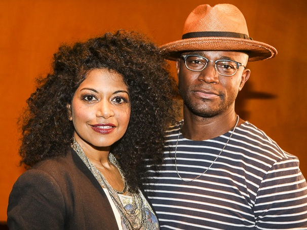 Hedwig and the Angry Inch - Meet and Greet - 6/15 - Taye Diggs - Rebecca Naomi Jones