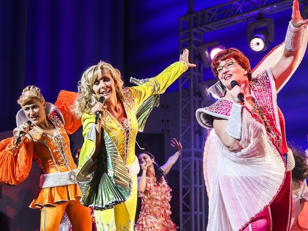 Mamma Mia! - Closing - 9/15 - Alison Ewing, Judy McLane and Mary Callanan