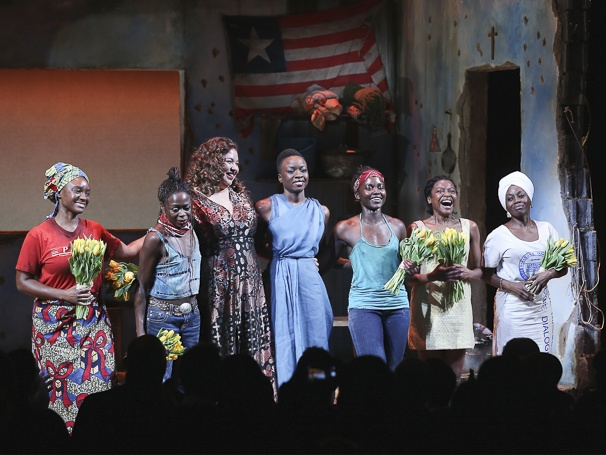 Eclipsed - Opening - 3/16 - GETTY - Saycon Sengbloh - Zainab Jah - Liesl Tommy - Danai Gurira - Lupita Nyong'o - Pascale Armand - Akosua Busia