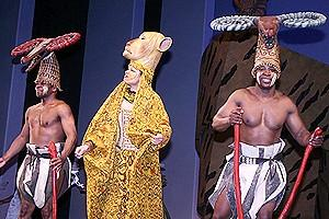 Lion King Moves to the Minskoff - cast members