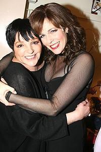 Liza Greets Rita Wilson at Chicago - Liza Minnelli - Rita Wilson