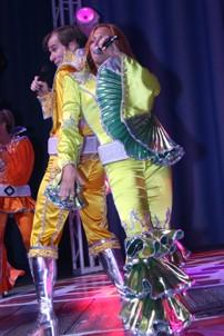 Photo Op - Mamma Mia! Fifth Anniversary - cc - David McDonald - Carolee Carmello