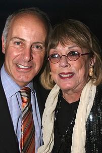 Photo Op - Mamma Mia! Fifth Anniversary - Joseph P. Benincasa - Phyllis Newman