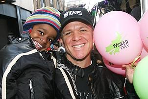 Photo Op - Wicked Day 2006 - Anthony Galde - (son) Justin