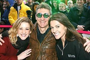 Photo Op - Wicked Day 2006 - Katie Adams - David Garrison - Chelsea Cooley (Miss America 2005)