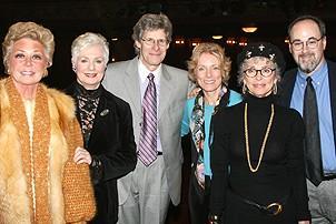 Rodgers and Hammerstein Ladies @ Jersey Boys - Mitzi Gaynor - Shirley Jones - Ted Chapin - Charmian Carr - Rita Moreno - Bert Fink
