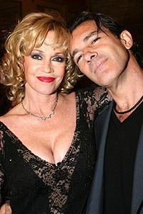 Photo Op - Chicago 10th Anniversary - Melanie Griffith - Antonio Banderas