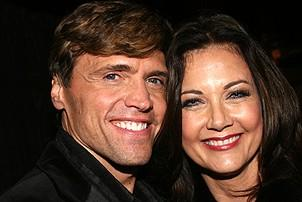 Photo Op - Chicago 10th Anniversary - party - Brent Barrett - Lynda Carter