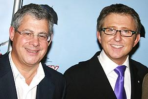 Photo Op - Mary Poppins Opening - Cameron Mackintosh - Thomas Schumacher