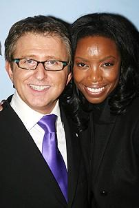 Photo Op - Mary Poppins Opening - Heather Headley - Thomas Schumacher
