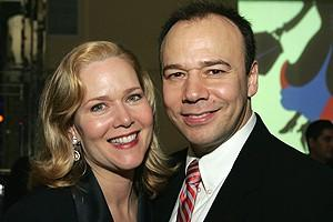 Photo Op - Mary Poppins Opening - Rebecca Luker - Danny Burstein