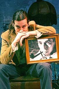Photo Op - Constantine Maroulis in Jacques Brel - Constantine Maroulis (portrait of Jacques Brel)