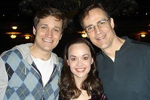 Photo Op - 19th Anniversary of Phantom - Michael Shawn Lewis - Julie Hanson - Howard McGillin