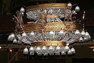 Photo Op - 19th Anniversary of Phantom - chandelier