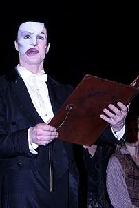 Photo Op - Phantom 8,000th Performance - cc - Howard McGillin (reading proclamation)