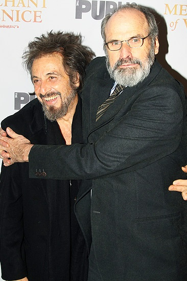 Merchant of Venice Opening night – Al Pacino - Daniel Sullivan