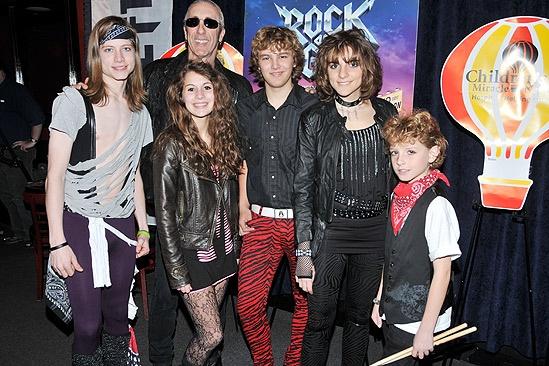 Dee Snider and the School of Rock – Jake Taenzler – Kelly Sabatino –Dee Snider Grayson Kohs – Korina Dabundo - Chris Cummings