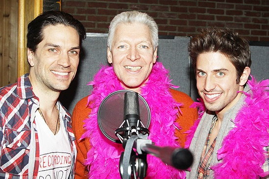 Priscilla recording – Will Swenson – Tony Sheldon – Nick Adams