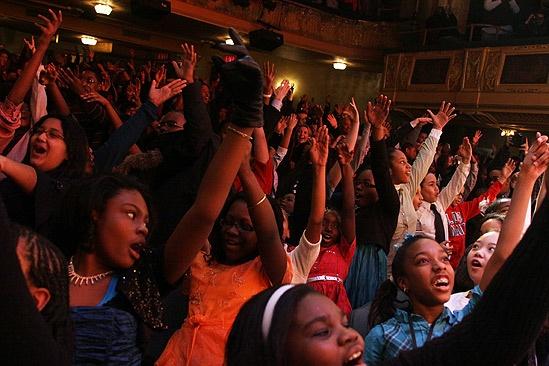 Memphis kids benefit – audience of <i>Memphis</i>