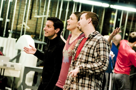 Anything Goes in Rehearsal –  tktktk – Sutton Foster – tktktk
