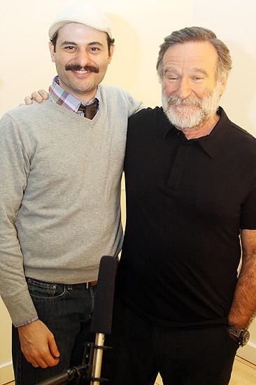 Tiger Meet – Arian Moayed – Robin Williams