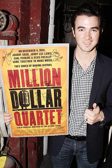 Kevin Jonas at Million Dollar Quartet – Kevin Jonas