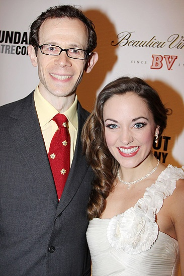 Anything Goes Opening Night – Adam Godley – Laura Osnes