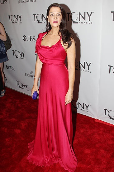 2011 Tony Awards Red Carpet – Annabella Sciorra