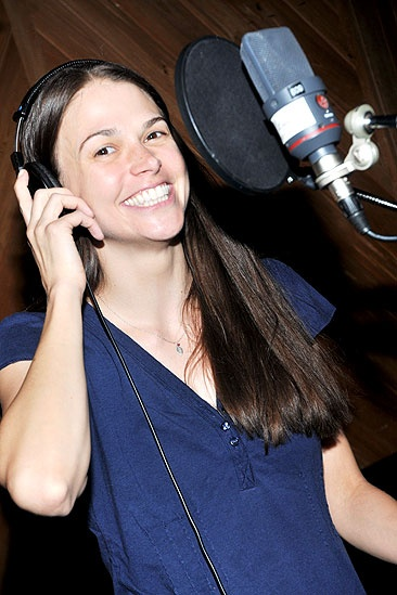<i>Anything Goes</i> Cast Album Recording – Sutton Foster