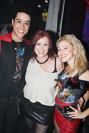 Tiffany at <i>Rock of Ages</i> -Dan Domenech - Tiffany – Rebecca Faulkenberry