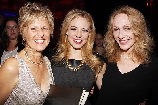<i>Follies</i> opening night – Virginia Sandifur – Kirsten Scott – Jan Maxwell