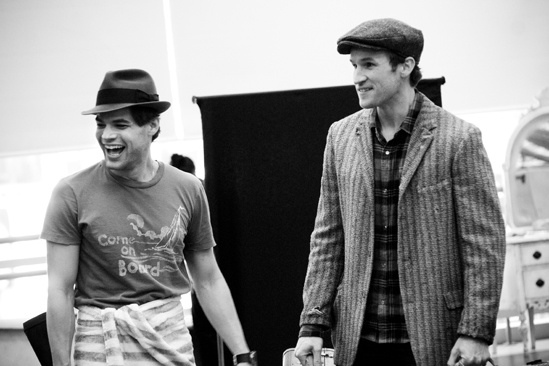 <i>Bonnie & Clyde</i> Rehearsal – Jeremy Jordan – Claybourne Elder
