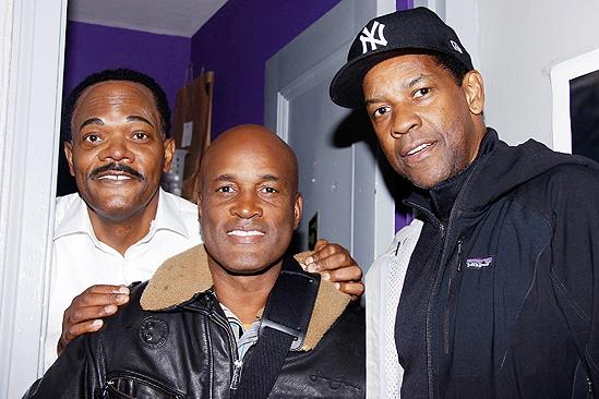 Denzel Washington at <i>The Mountaintop</i> - Samuel L. Jackson – Kenny Leon – Denzel Washington