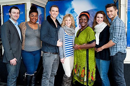 'Ghost' Casts Meet – Bryce Pinkham – Da'Vine Joy Randolph - Richard Fleeshman - Caissie Levy – Sharon D Clarke – Siobhan Dillon – Mark Evans