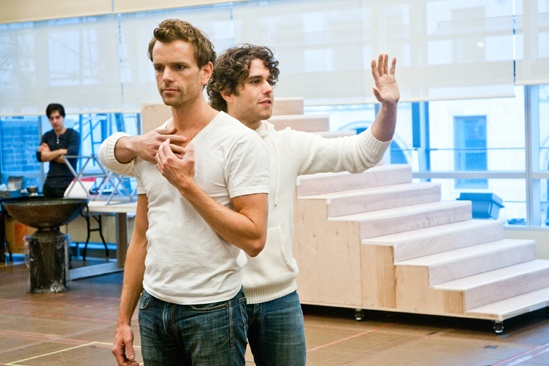 In Rehearsal with Jesus Christ Superstar – Paul Nolan – Josh Young
