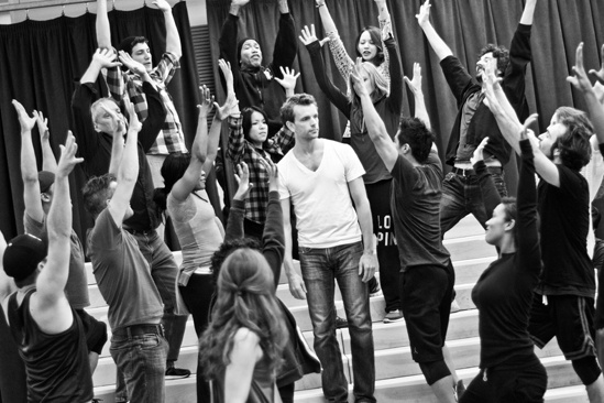 In Rehearsal with Jesus Christ Superstar –  Jesus Christ Superstar ensemble – Paul Nolan