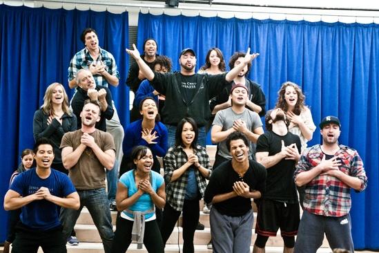 In Rehearsal with Jesus Christ Superstar – Jesus Christ Superstar cast