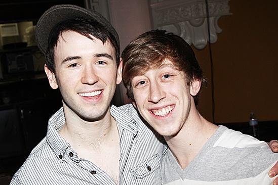 Newsies- Garett Hawe and Ryan Breslin