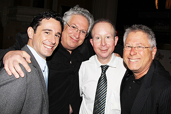 Newsies- Christopher Gattelli, Harvey Fierstein, Jack Feldman and Alan Menken