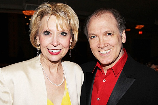Linda Lavin at the Vineyard Theatre Gala – Julie Halston – Charles Busch The hosts of the gala
