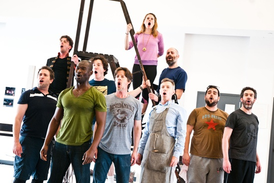 Peter and the Starcatcher Rehearsal – Peter and the Starcatcher Sing