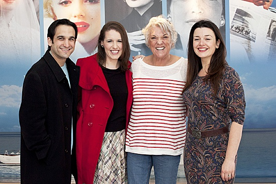Master Class Star Tyne Daly Visits Onassis' Yacht – Jeremy Cohen – Naomi O'Connell – Tyne Daly – Dianne Pilkington