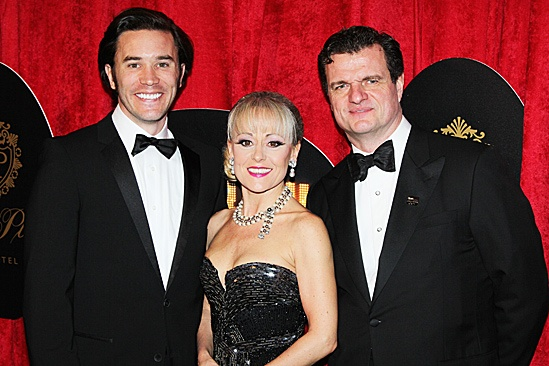 End of the Rainbow- Opening- Tom Pelphrey, Tracie Bennett and Michael Cumpsty