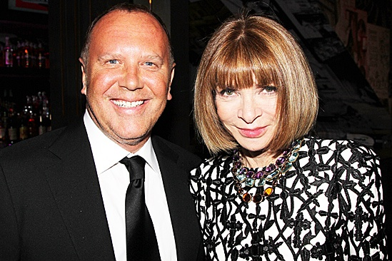 One Man, Two Guvnors opening night – Michael Kors – Anna Wintour
