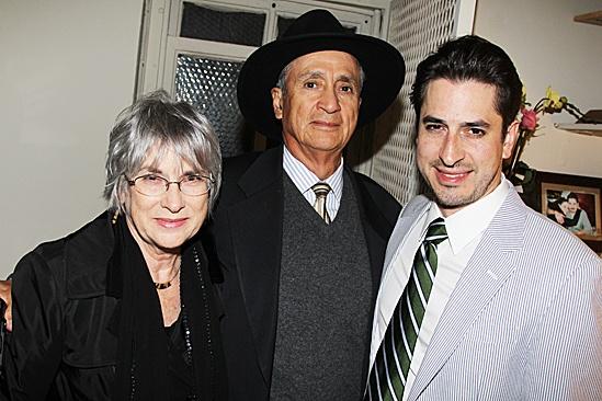 A Streetcar Named Desire opening night – Matthew Saldivar and family